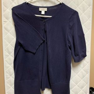 The Loft short sleeves cardigan